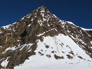 Gipfelflanke der Wildspitze