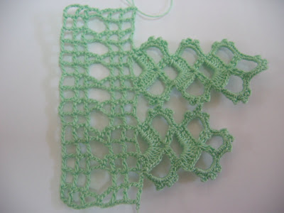 Resim+070 İncili Yeşil Havlu Kenarı Modeli ve Yapılışının Ayrıntılı Anlatımı