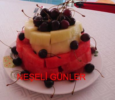 Karpuz kiraz Ahmet Maranki