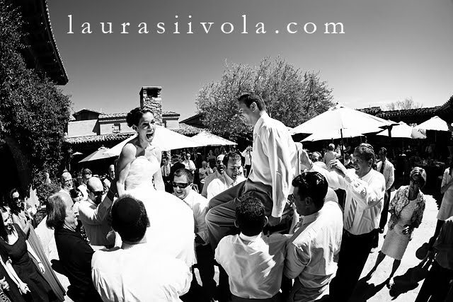 Hora at Reception DC Ranch Scottsdale Wedding Photographer