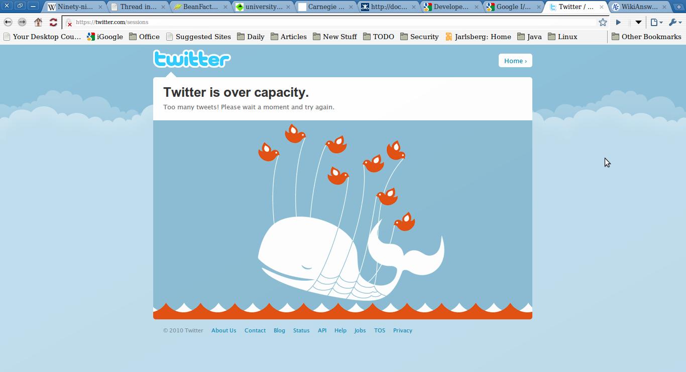 Twitter error page | ValidateThis