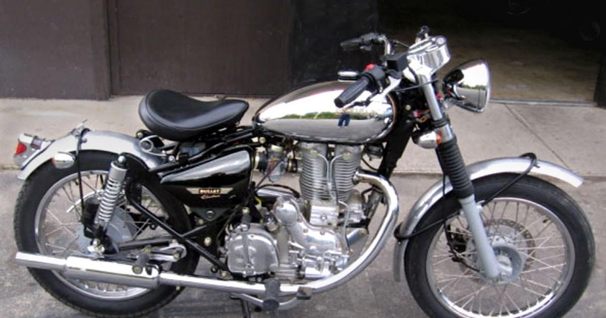 Royal Enfield Motorcycles: Bright idea gives Electra a new ...