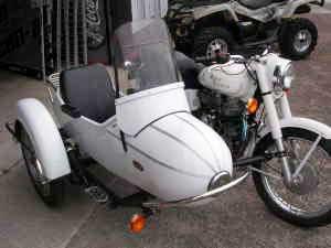 Sidecar with turn signal