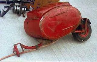 First PAV motorcycle trailer design.