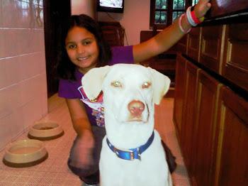 Roxana y Hashiko, amigos inseparables en Venezuela