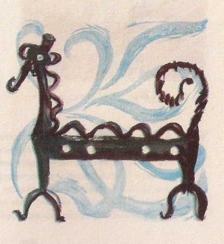 """""""Chenets d'Alentejo"""". Ilustração de Paulo Ferreira"""