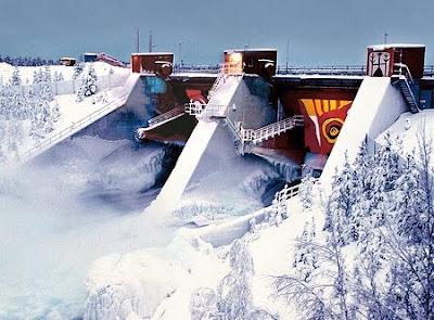 Suède : centrale électrique d'Akkats, Lule River, hydro power, Vattenfall - Energie hydroélectrique en Suède - Terre Natale, Blog Développement durable et modes de vie, par Thierry Follain, conseil éditorial, rédacteur, web rédacteur