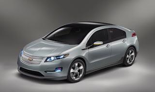 General Motors : Chevrolet Volt électrique, lithium-ion
