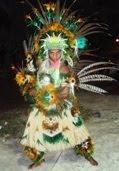 Pajé do Pojeto Cultural Ananin Dance