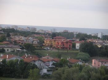 Panoramica della mia città
