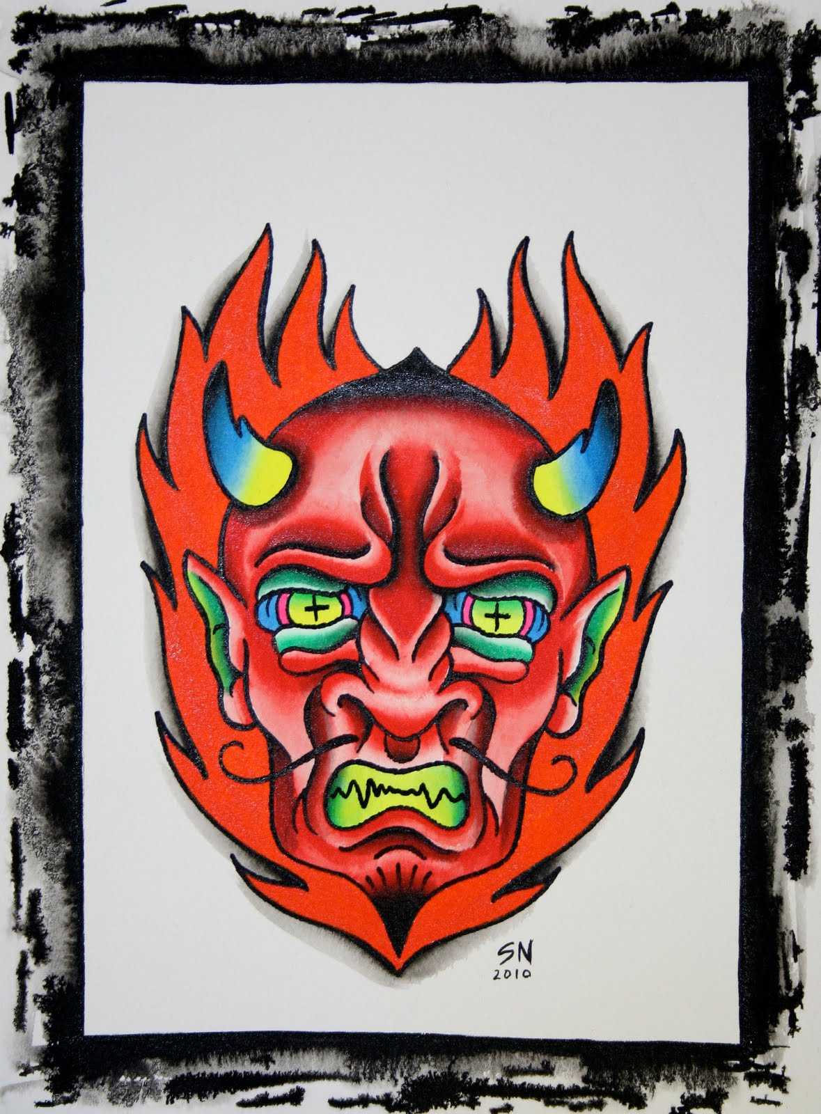 NUTT BLOG: Devil head