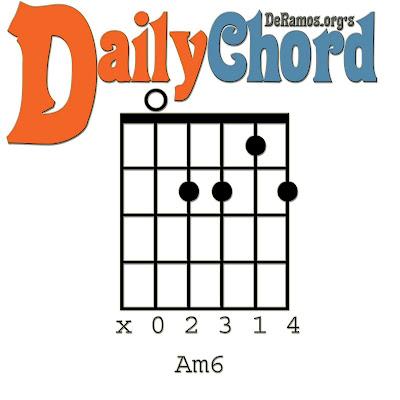 am6 guitar chord am7 guitar cord