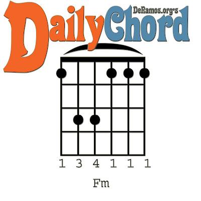 Chord du Jour: Lesson #74: Seven Chords in F Minor (Guitar, Beginner)