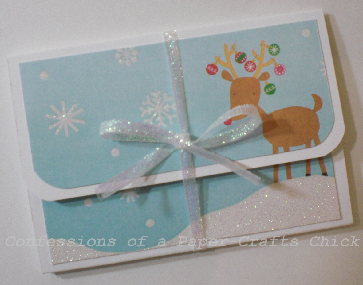 Confessions of a paper crafts chick christmas gifts for Christmas card holder craft project
