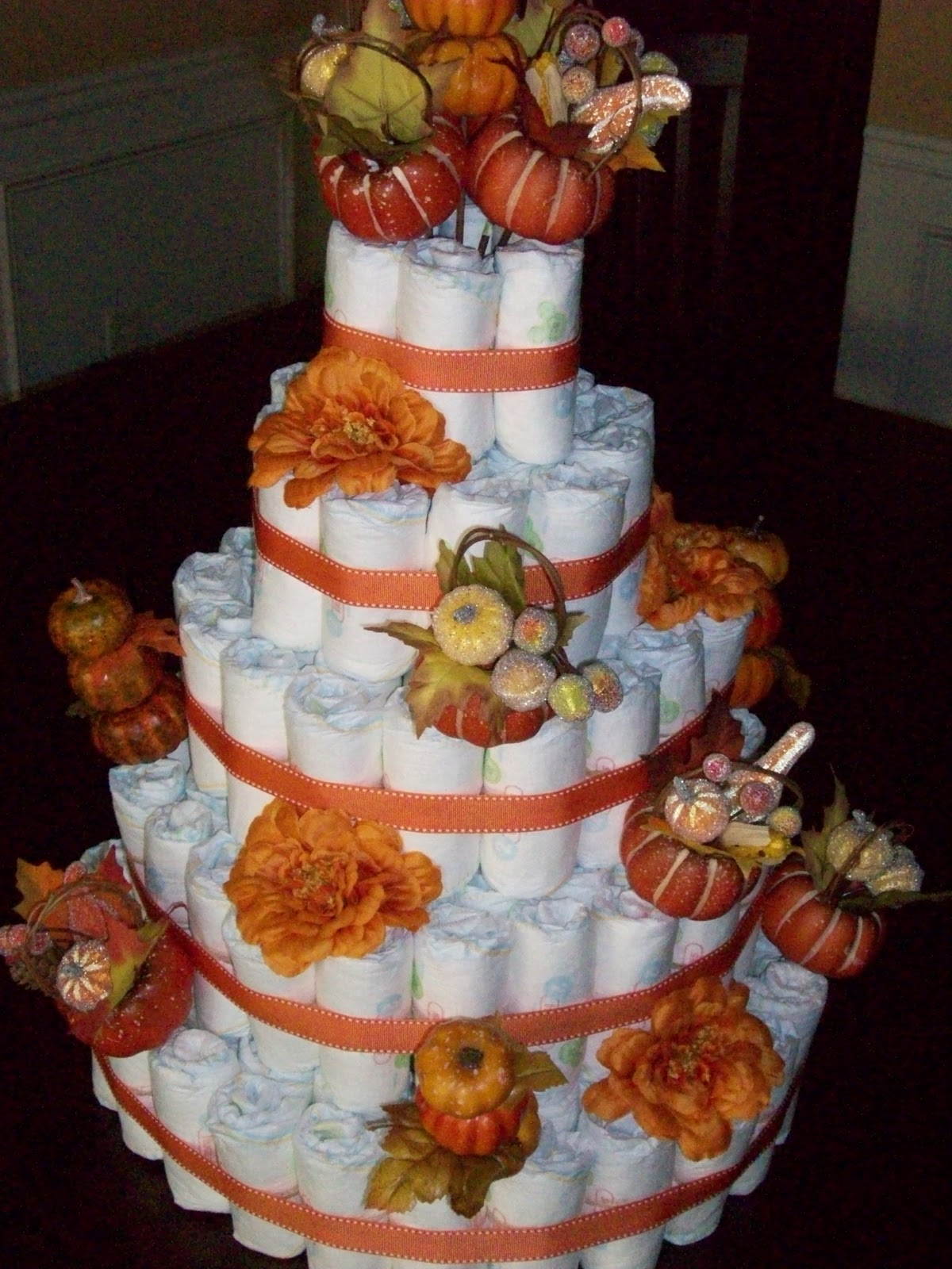 How To Make A Boutique Style Diaper Cake