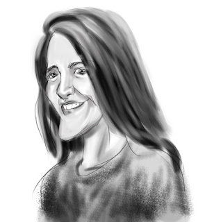 mary delgado caricature