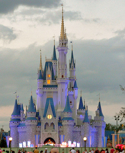 walt disney world castle. florida walt disney world