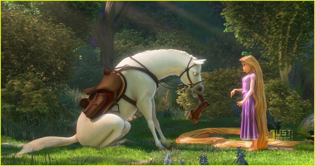 Princesas disney cuatro nuevas im genes de enredados - Raiponce cheval ...