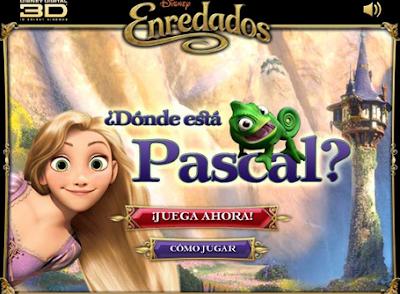 Enredados Juego - Encuentra a Pascal