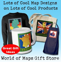 Cool Map Gifts