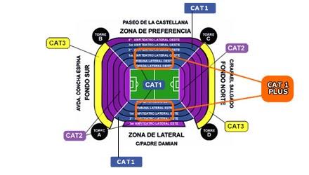 Venta de entradas vip real madrid f tbol en televisi n for Puerta 53 bernabeu