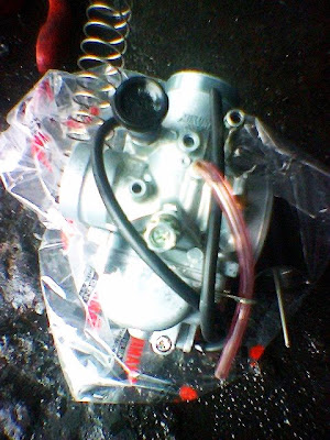 Modenas Jaguh 175 - Ubahsuai Carburetor - Mikuni RXZ