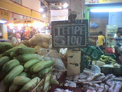 Tempe paling mahal di dunia 5 keping = RM100!