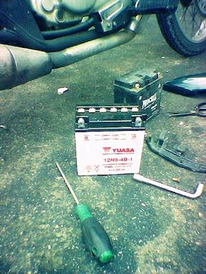 Modenas Jaguh 175 - Bateri OEM Jaguh Yuasa 12N9-4B-1