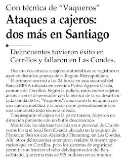 ... El Mercurio, Octubre 20, 2008