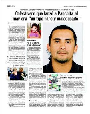 haga click para leer el artículo periodístico, Las Ultimas Noticias Agosto 05 de 2009