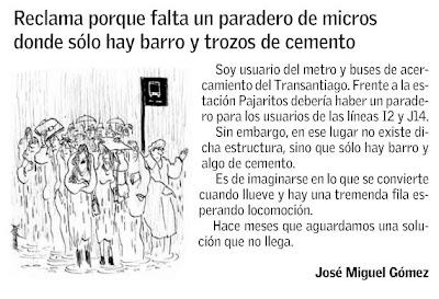 El Mercurio, Línea Directa Comunidad Septiembre 25 de 2009