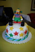 Torta KRUSTY il Clown dei Simpson
