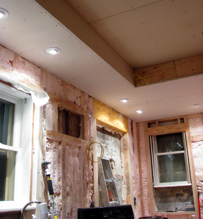 Apropos of nothing kitchen renovation update we 39 ve come for Pink insulation r value