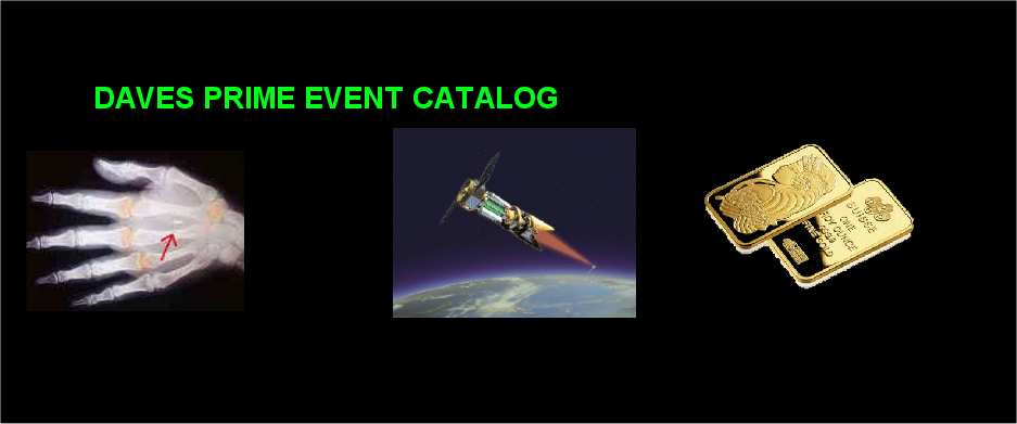 Daves Prime Event Catalog