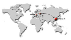Aeroflot - trasa lotu do Chin