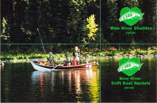 Bow River Shuttles Website