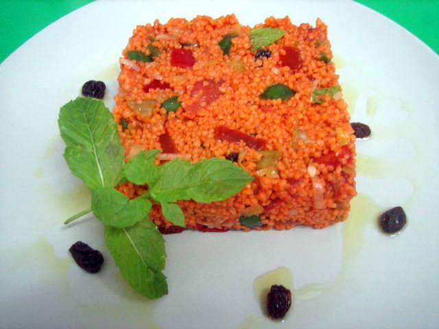 Cocina con luz verde: tabulé al limón con la mejor agua del planeta