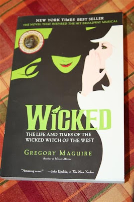 When I was at the gay bookstore this week, I got an extra copy of Wicked.