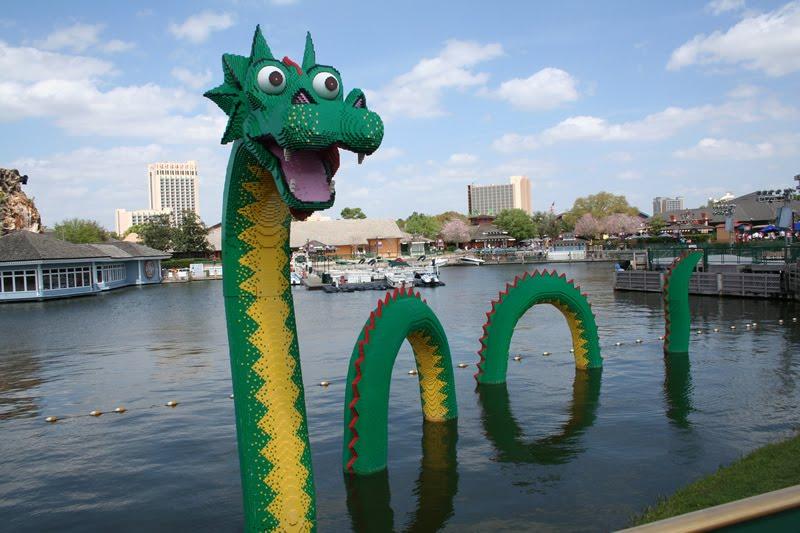 Loch Ness Monster Wedding Cake