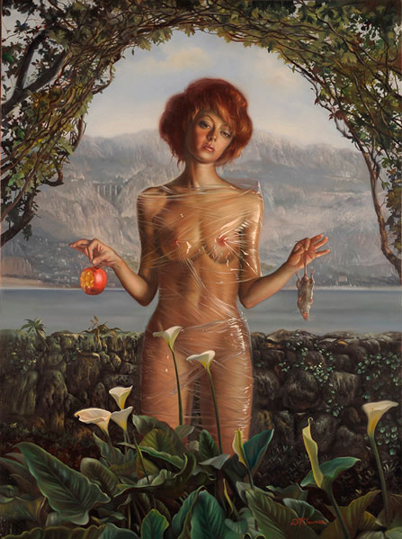 David Bowers 1956 Unspoiled+15.9+x+11.9+inches+oil+on+panel+2009-2-780419