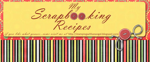 MY SCRABOOKING RECIPES