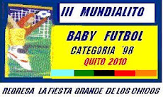 REGRESA LA FIESTA GRANDE DE LOS CHICOS - III MUNDIALITO DE BABY FUTBOL