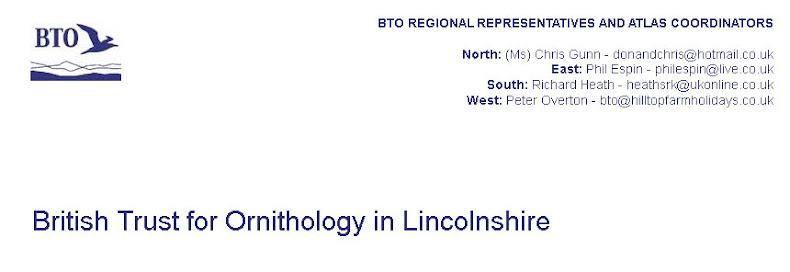 BTO in Lincolnshire