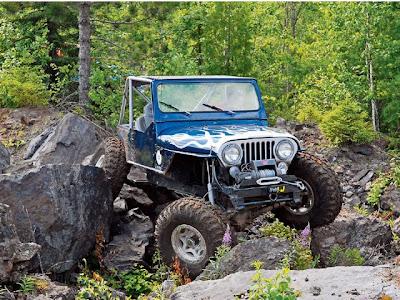 jeep cj7 climb