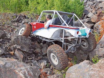 twisted customs tube buggy