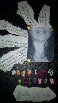 Min novell och diktsamling PAPPERSSKÄRVOR (klicka på bilden för att beställa den)