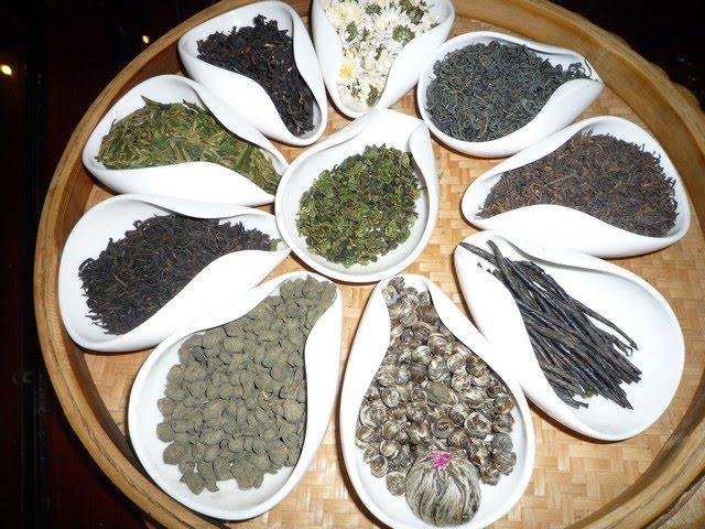 Tipos de té. Imagen: Eva Rodríguez Braña