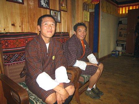 Sonam and Ugyen