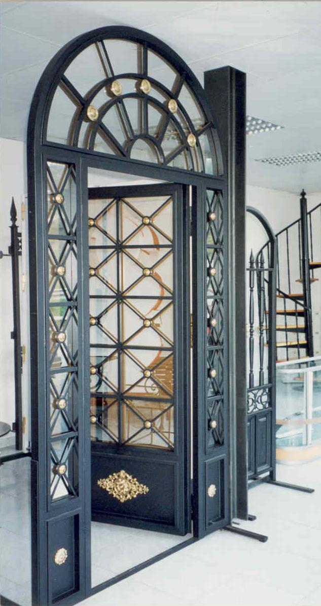 Talleres gra a s l puertas de forja a coru a - Puertas antiguas segunda mano ...