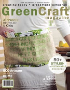 I was Featured in The Premiere Issue of GreenCraft Magazine